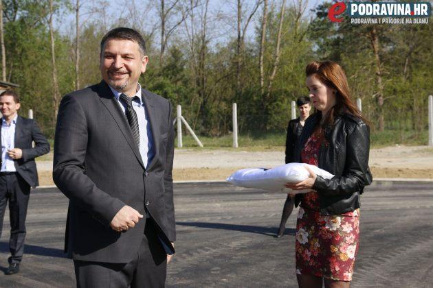 Otvorenje reciklažnog dvorišta u Đurđevcu // Foto: Matija Gudlin