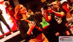 Miss Sunshine na dodjeli DJ Awards nagrada 2014. godine // foto: privatna arhiva Miss Sunshine