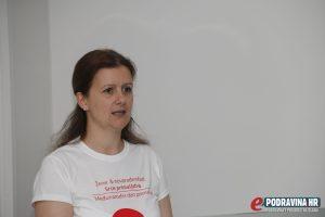 Izabela Knapić, voditeljica tima koprivničkog rodilišta // Foto: Matija Gudlin