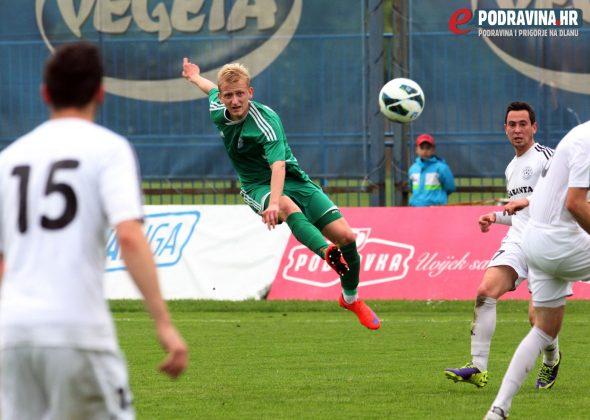 Igor Tkalčić (zeleni) jedna je od najvećih uzdanica trenera Mešnjaka // Foto: Ivan Brkić