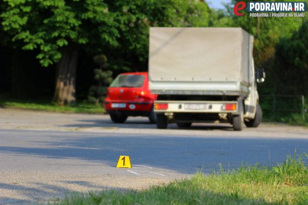 Prometna nesreća u Novom Virju // Foto: Matija Gudlin