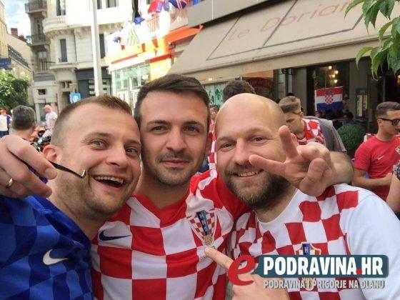 Podrška Hrvatskoj s tribina bit će jača i za nekoliko naših Koprivničanaca // Foto: Čitatelj