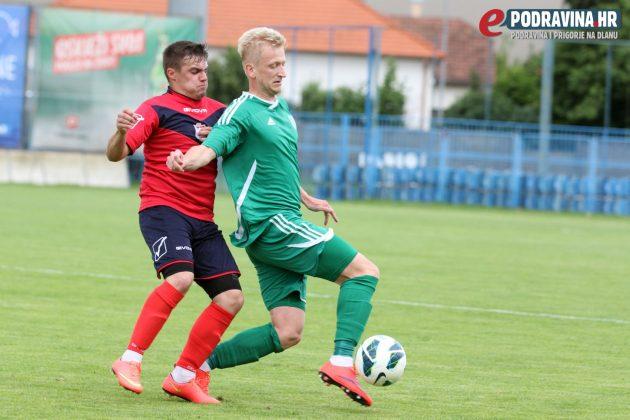 Ivan Tkalčić (zeleni dres) igrat će važnu ulogu u ovosezonskoj ekipi Koprivnice // Foto: Ivan Brkić