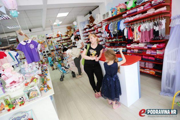 Otvorenje Lollipop trgovine u Koprivnici // Foto: Mario Kos