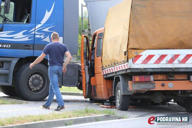 Prometna nesreća Štaglinec, Koprivnica // Foto: Mario Kos