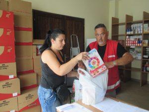 Socijalna samoposluga i dalje uspješno djeluje // Foto: Crveni križ Koprivnica