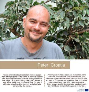Peter Fabjan // PRESET koordinator