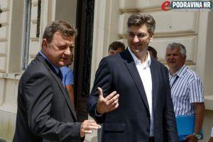 Andrej Plenković i Darko Sobota // Foto: Matija Gudlin