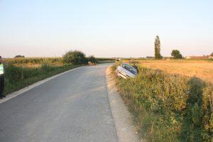 Prometna nesreća kod Cirkvene // Foto: PU kc-kž