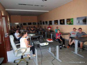 Predavanje Janje Škode u Legradu // Foto: Janja Škoda, Goran Šafarek