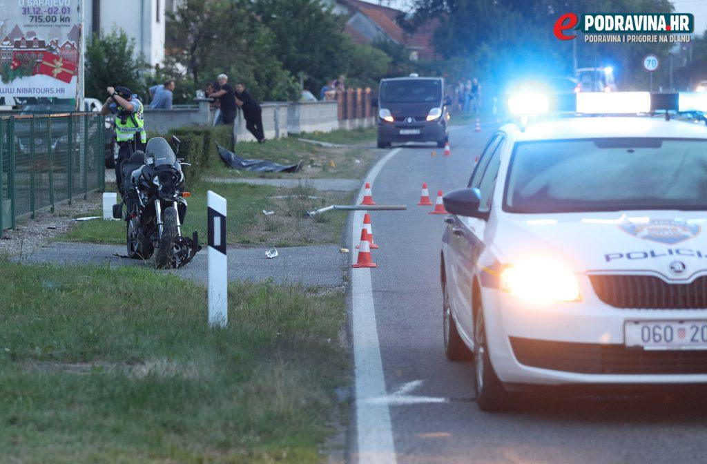 S mjesta nesreće // foto: Ivan Brkić