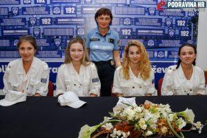 Pavlica Bokal i djevojke - Antonela Vargić, Petra Martić, Doria Sačer i Danijela Kušenić // Foto: Matija Gudlin