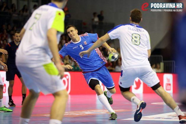 EURO M18 polufinale Hrvatska - Slovenija