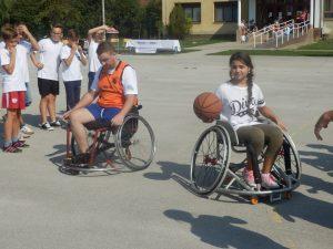 Košarka u kolicima // Foto: Bolje sutra