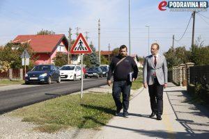 Radovi na asfaltiranju Starogradske ulice // Foto: Matija Gudlin
