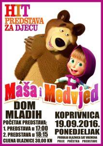 Maša i medvjed // Foto: Elvis Mohorović