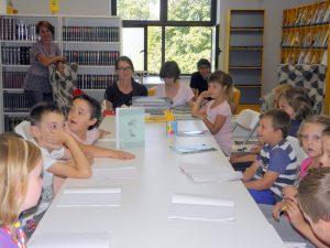 Najmlađi su učili brajicu // Foto: djurdjevac.hr