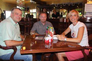 Martina Golčić i Goran Milošević // Foto: Bussines caffe