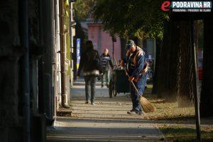Uređuje se okoliš u centru grada // Foto: Matija Gudlin
