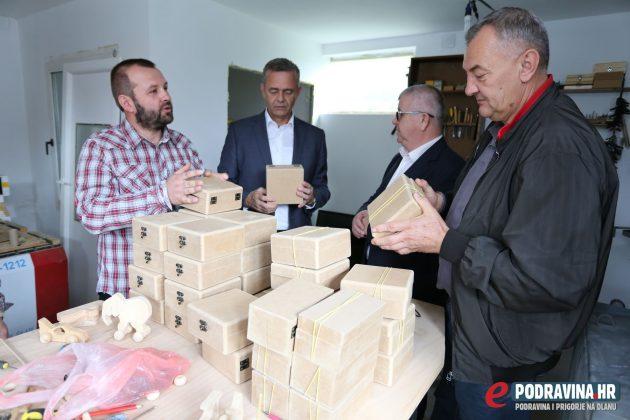 EMBER - Marko Solar - otvorenje obrta za izradu suvenira