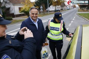 Nije policija uvijek namrštena // Foto: Matija Gudlin