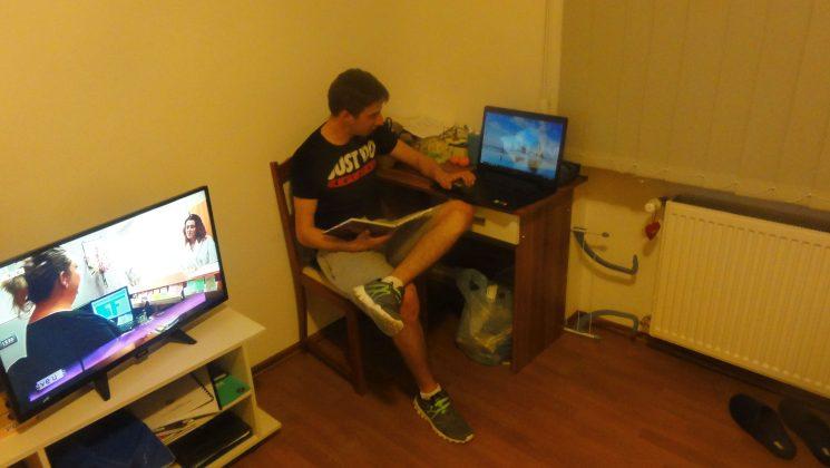 Filip Jurlina student u Križevcima // FOTO: Admir Sinani