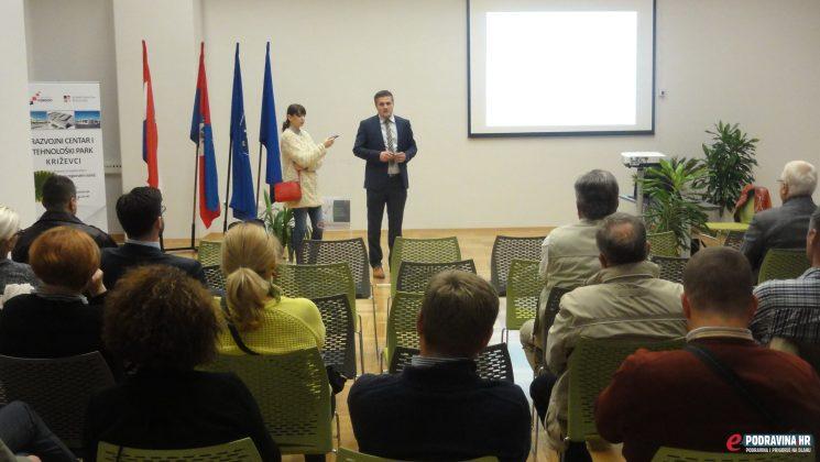 Otvorenje Razvojnog centra i tehnološkog parka Križevci // FOTO: Admir Sinani