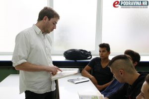 Mladi Francuz može predavati samo strancima // Foto: Matija Gudlin