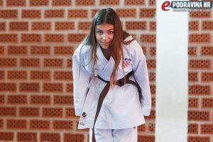Ema: U karateu nije cilj nekoga ozlijediti // Foto: Matija Gudlin