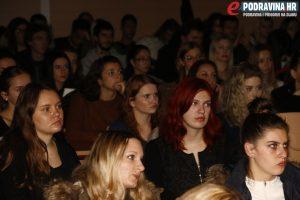 Gostujući predavač napunio je dvoranu // Foto: Matija Gudlin