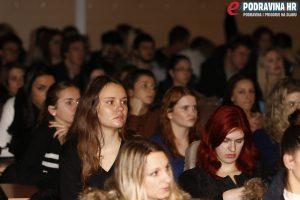 Projekt manager držao je pažnju više od dva sata // Foto: Matija Gudlin
