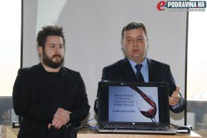 Sobota i Mirković predstavili su Županijsku etiketu // Foto: Matija Gudlin