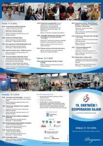 Program 19. Obrtničkog i gospodarskog sajma