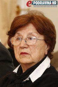 Predsjednica povijesnog društva Ružica Špoljar // Foto: Matija Gudlin
