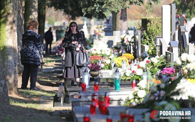 Sesvete - Blagdan Svih Svetih - Groblje Koprivnica