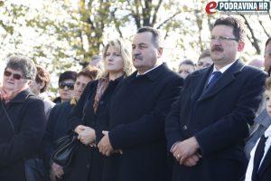 Načelnik općine Virje Mirko Perok (sredina) // Foto: Matija Gudlin