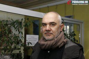Antonio Grgić o mostu-muzeju // Foto: Matija Gudlin