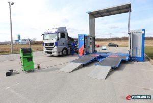 Akcija tehnički pregled kamiona Reka // Foto: Mario Kos