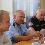 Prijem vatrogasaca u Gradu Koprivnici