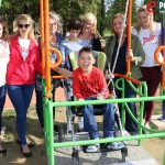 Otvorenje ljuljačke za djecu s invaliditetom