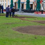 Radovi na održavanju zelenih površina // Foto: Matija Gudlin