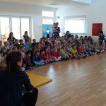 """Kazalište """"Šareni svijet"""" razveselilo mališane // Foto: virje.hr"""