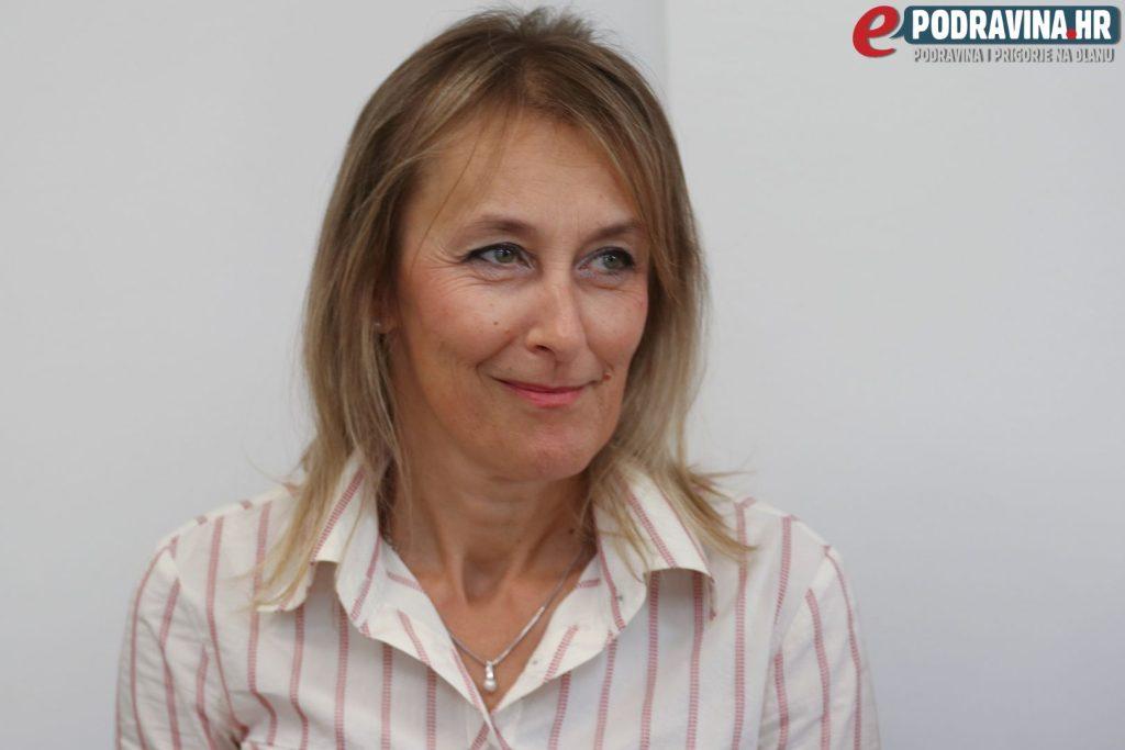Edita Janković Hapavel, Gradsko vijeće Đurđevac 09. listopada 2017. // Foto: Matija Gudlin