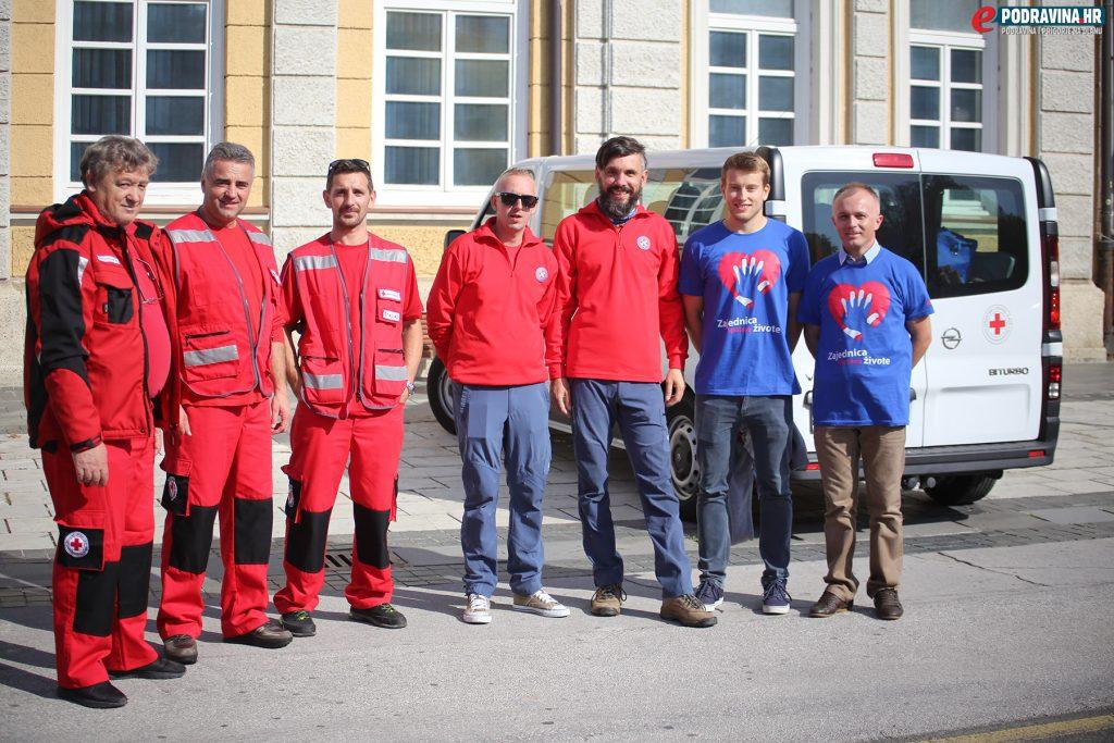 Dan oživljavanja srca Zrinski trg Koprivnica