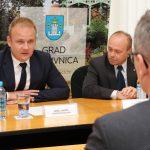 Christian Thorning, danski veleposlanik u Hrvatskoj u posjetu Koprivnici // Foto: Matija Gudlin