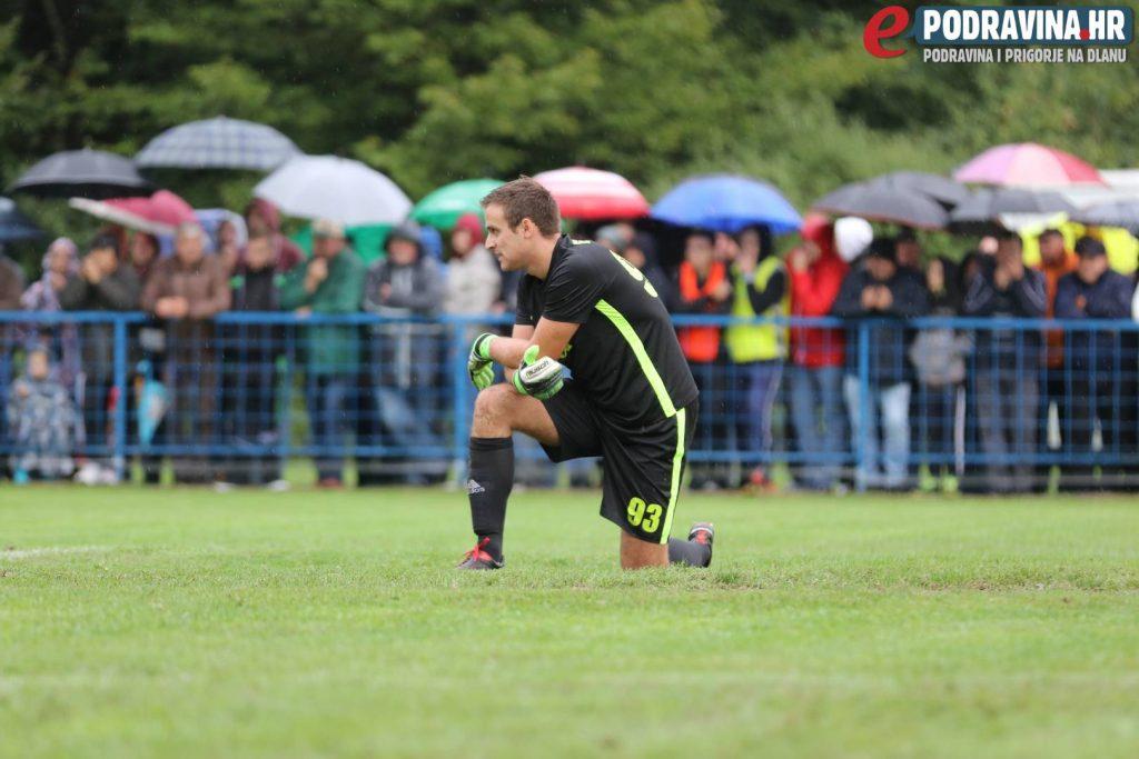 Luka Tizaj na utakmici Borac - Dinamo // Foto: Ivan Brkić