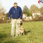 Policijski pas Boose i Milan Slaviček // Foto: Jurica Karan
