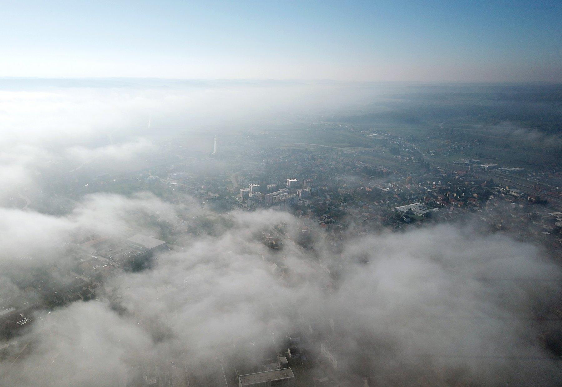 Magla iznad Koprivnice