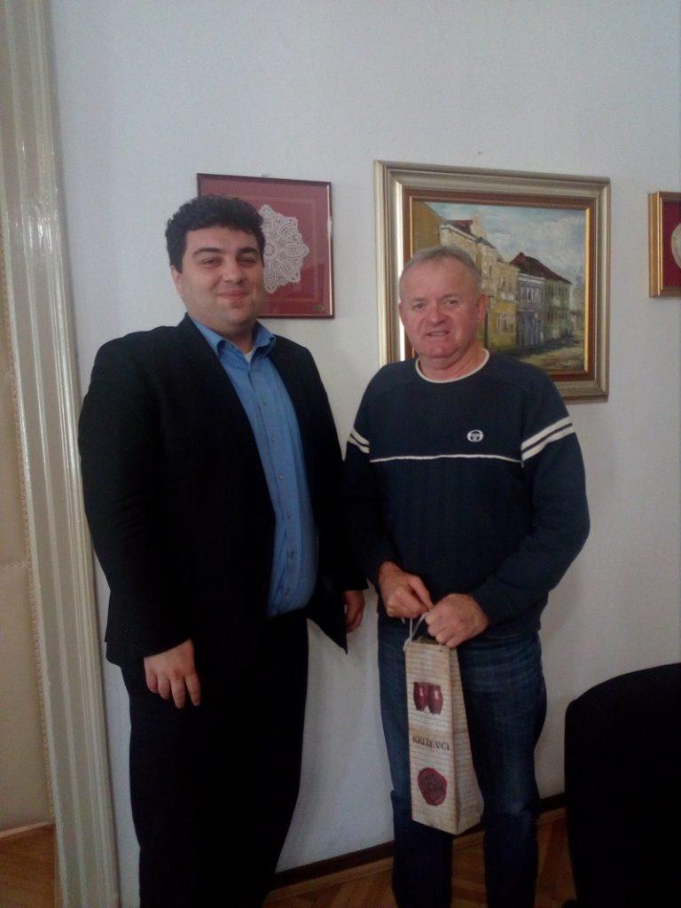 Mario Rajn i Drago Palčić // Foto: krizevci.hr