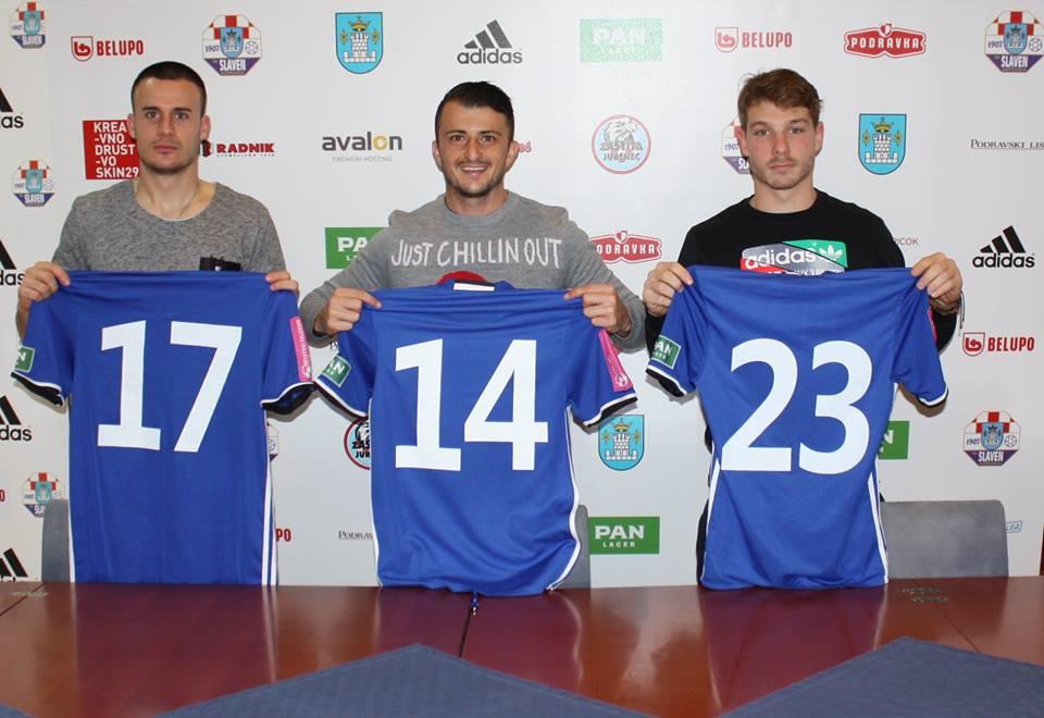 Novi igrači Slaven Belupa // Foto: Facebook